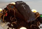 schokoladiger Halloween – Sarg mit Überraschung