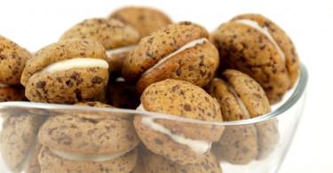 gefüllte Schokoladencookies
