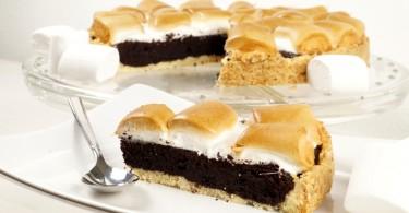 Brownie – Marshmallow – Kuchen