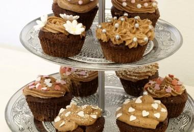 Schokoladen Cupcakes