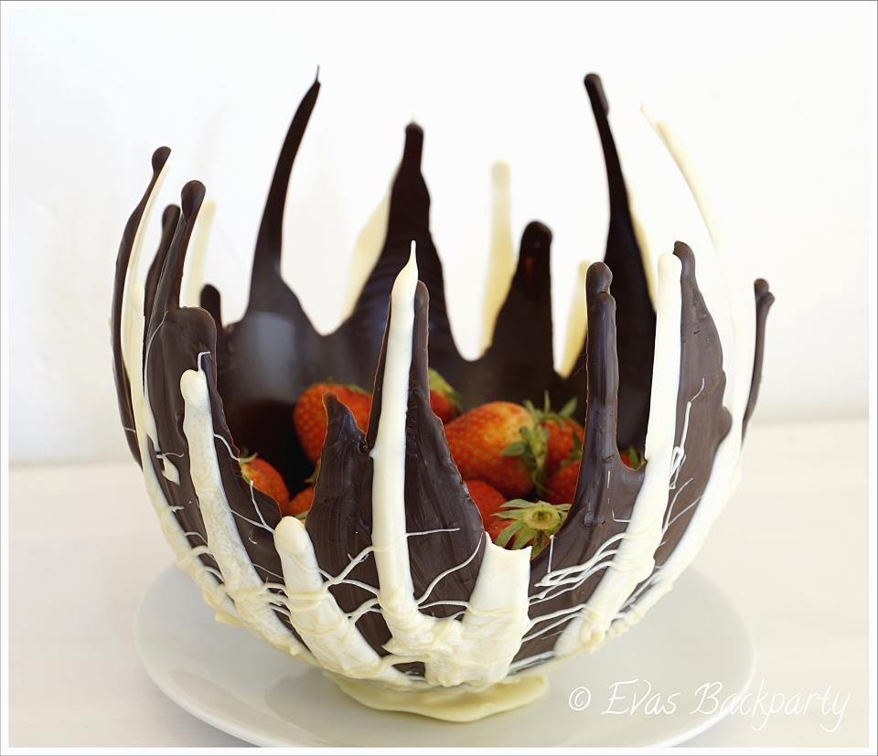 schokoladenschale selbstgemacht – evasbackparty
