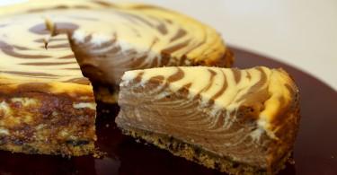 schokoladiger Käsekuchen (Zebra – Käsekuchen)