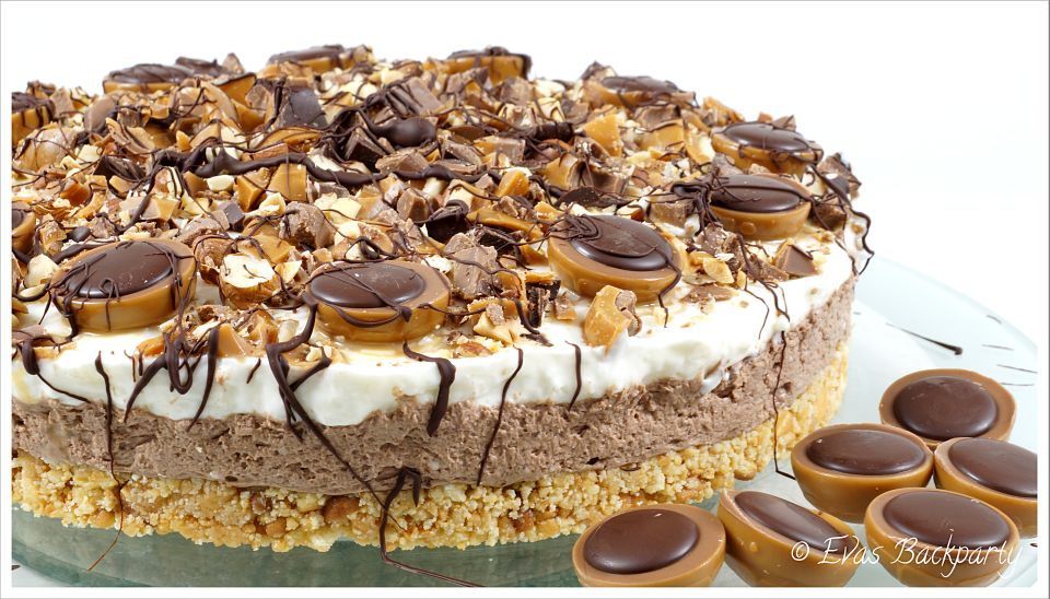cremige Toffifee Torte