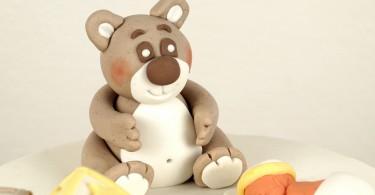 Teddybär aus Fondant