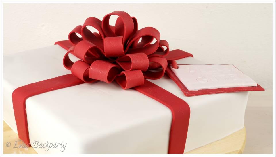 Geschenktorte
