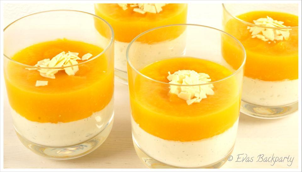 Kokos-Mango-Dessert