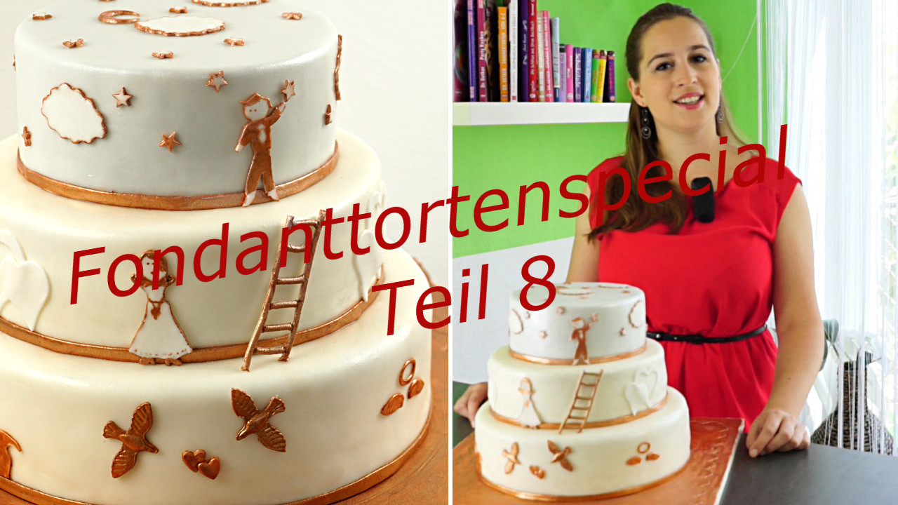 mit fondant berziehen und torte stapeln fondanttorte evasbackparty. Black Bedroom Furniture Sets. Home Design Ideas