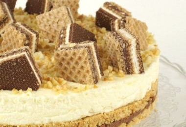 Knoppers - Torte
