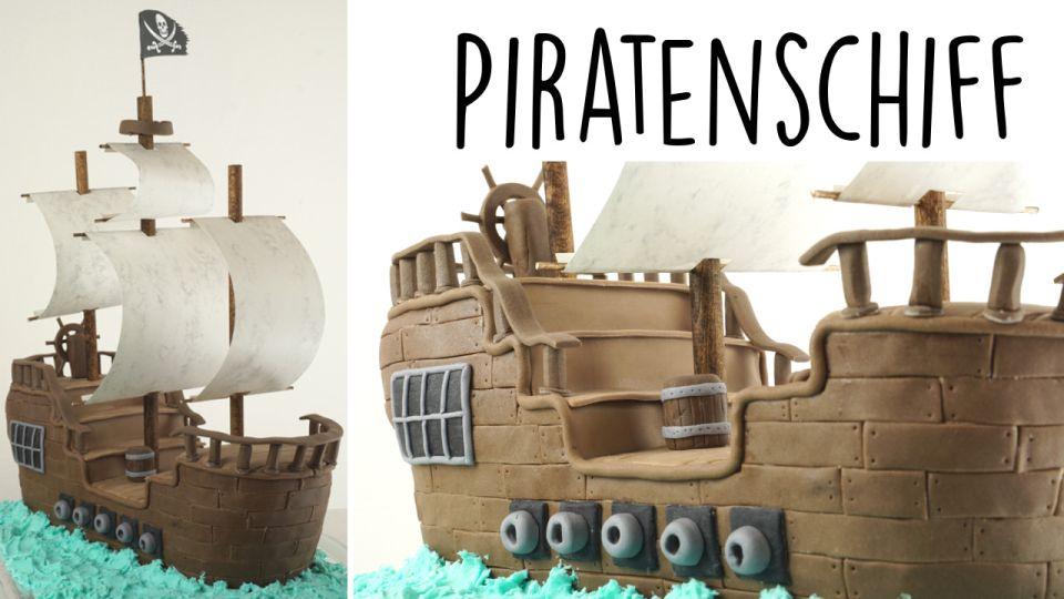 Piratenschiff Aus Fondant Evasbackparty