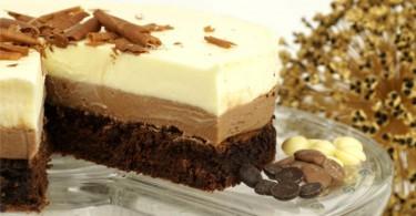 Schokoladentorte / Triple Chocolate Mousse Cake