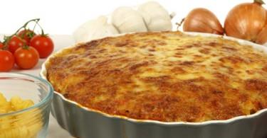 Pizza Pasta Cake