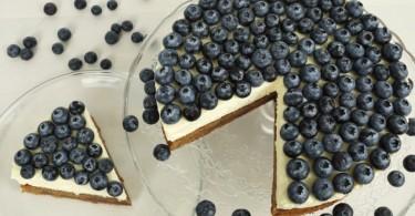 Schokoladen-Blaubeertorte, Schokoladen-Heidelbeertorte