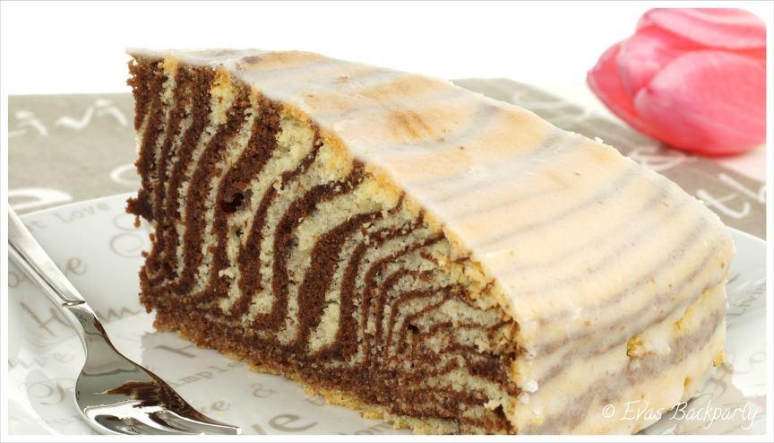 saftiger Zebrakuchen