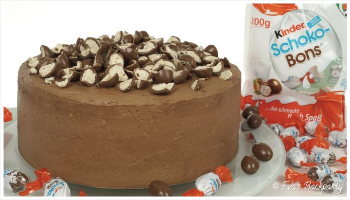 Schoko Bons Torte Fur Kinder Evasbackparty