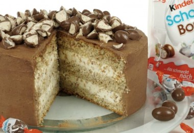 Schoko-Bons-Torte, Kinder Schokobons