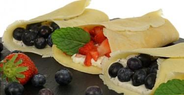 Frühstückwraps, Wrap in zwei Varianten