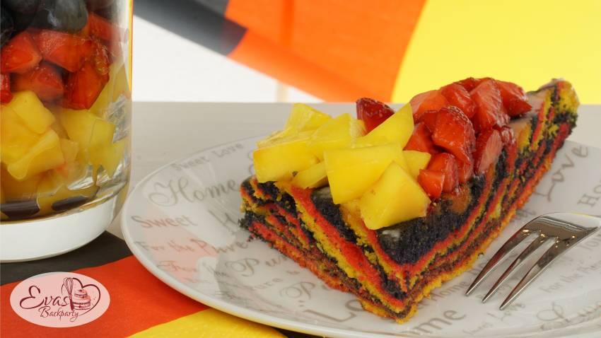 Deutschland-Kuchen, WM-EM-Kuchen