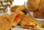 Käse-Bällchen, knusprig und pikant gefüllt