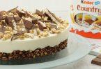 Kinder-Country-Torte, knusprig, schokoladig, cremig