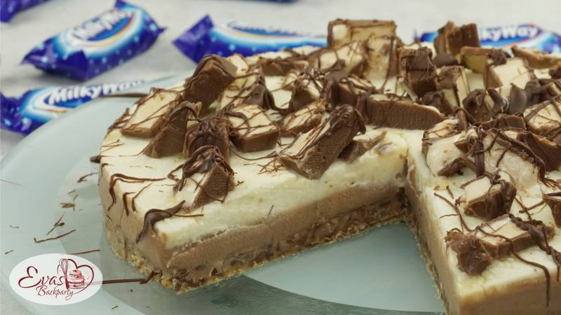Milkyway Torte Cremig Suss Und No Bake Evasbackparty