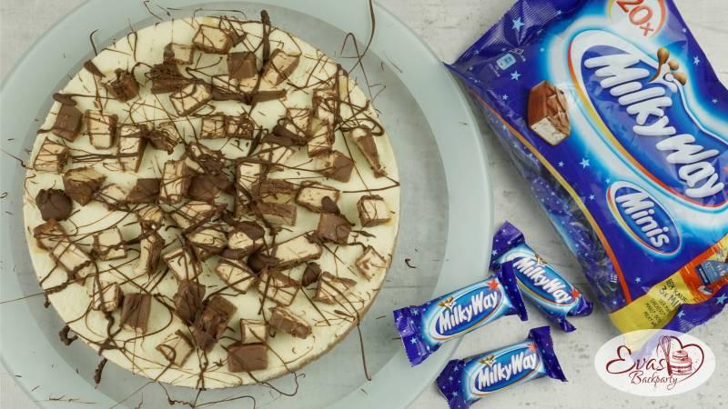 MilkyWay-Torte die Süssigkeiten-Torte