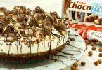 Choco-Fresh-Torte mit Keks-Boden