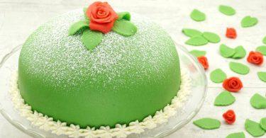 Prinsesstarta, die Pinzessinen-Torte
