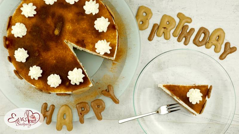Russisch-Brot-Torte zum Geburtstag