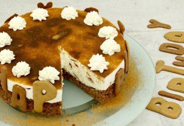 Russisch-Brot-Torte als Geburtstagstorte