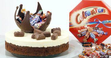 Celebrations-Schoko-Torte für Schokoladenfans
