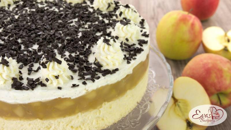 schwedische Apfel-Torte